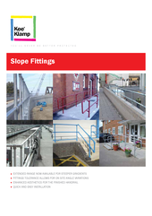 Kee Klamp - Slope Fittings thumbnail